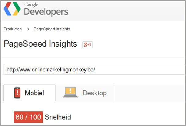 pagespeed 30-04-15