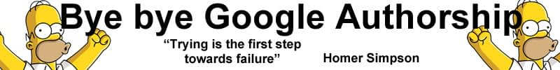 google authorship stopt